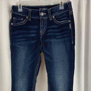 Silver Suki Mid Capri Crop Jeans ~ W30/L22 1/2